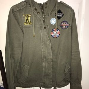 Military Jacket From Hot Topic